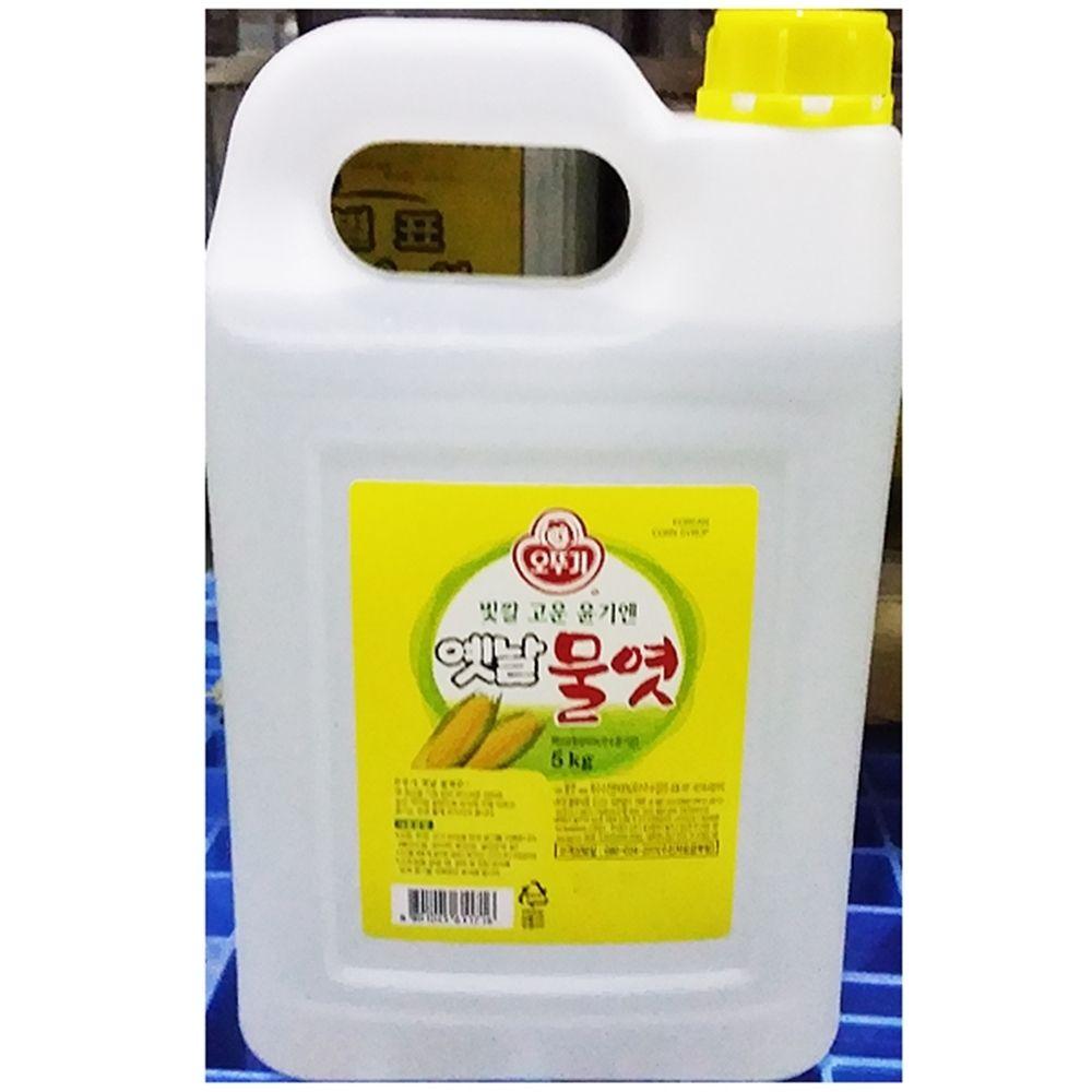 오뚜기 흰물엿 대용량식자재 물엿 (5KgX3개)