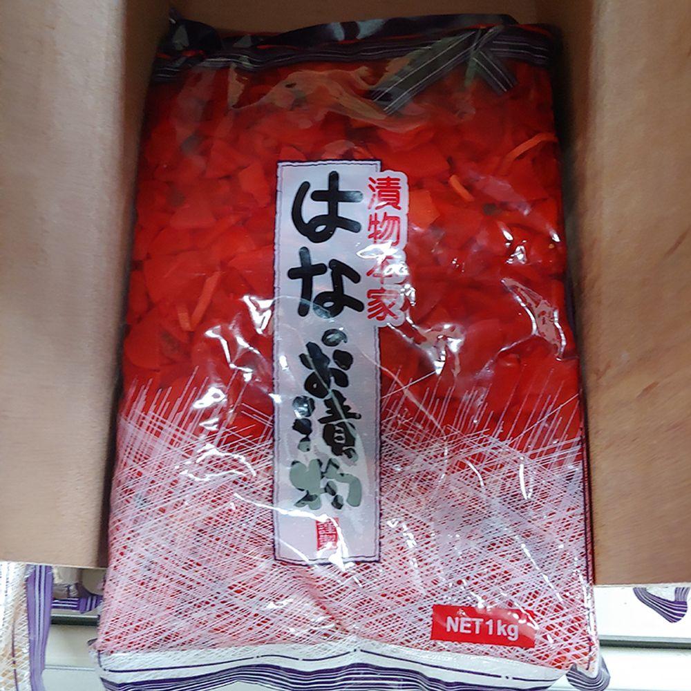 W2B4167후쿠진스케 복신지 1kg 1개,후쿠진스케,단무지,일식,무장아찌