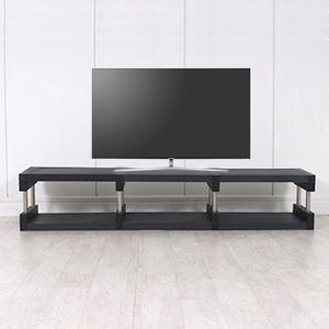 티비 다이 낮은 거실장 tv 선반 수납 테이블 1200
