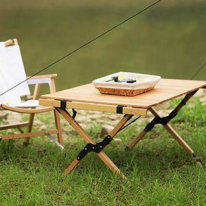 일상한조각 캠핑용품 접이식 우드 캠핑 차박 테이블
