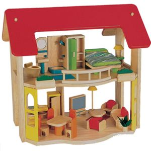 유치원 장난감 어린이 해피홈 앤 퍼니처 인형의 집