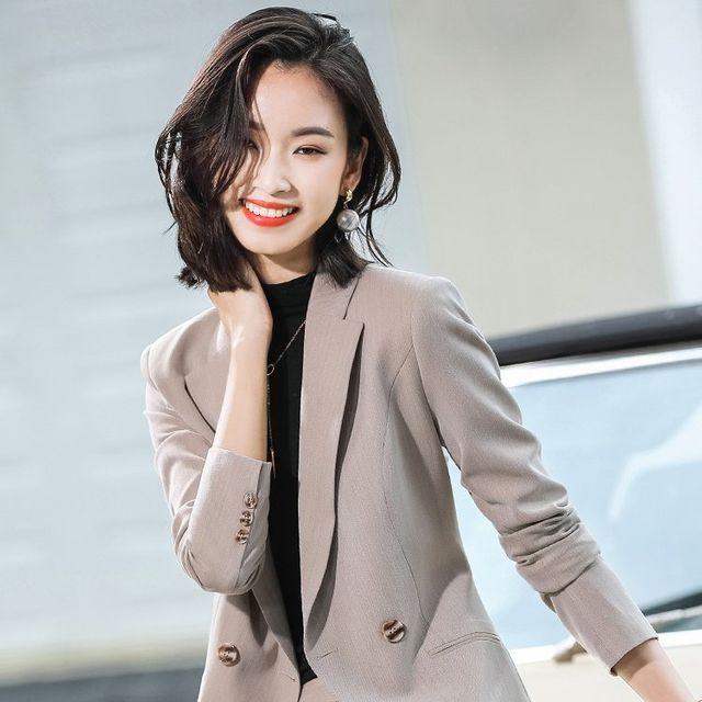 [해외] 여성 패션 재킷 자켓 정장세트신 팬의 높은 감각