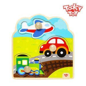 투키토이 투키 교통큰꼭지퍼즐 2매
