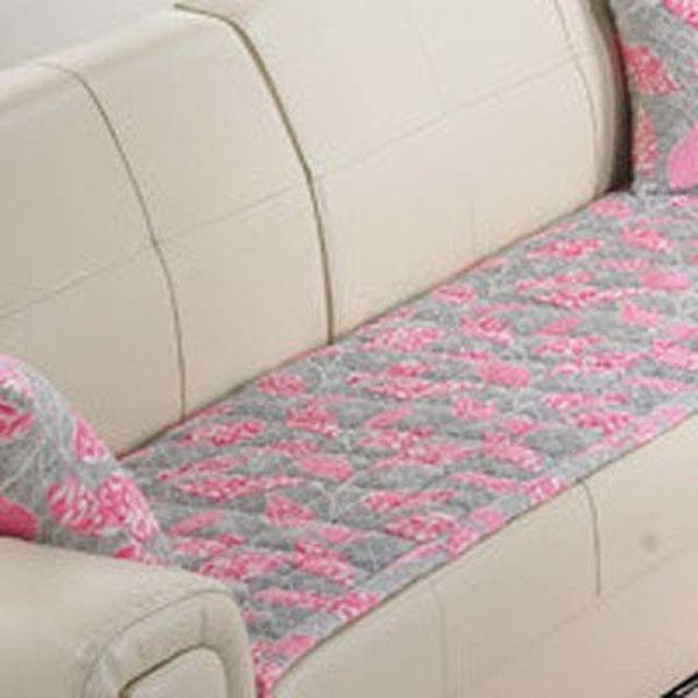 극세사 클래식 착색번 아웃 (핑크) 250cm+순면쿠션+솜(1개포함)
