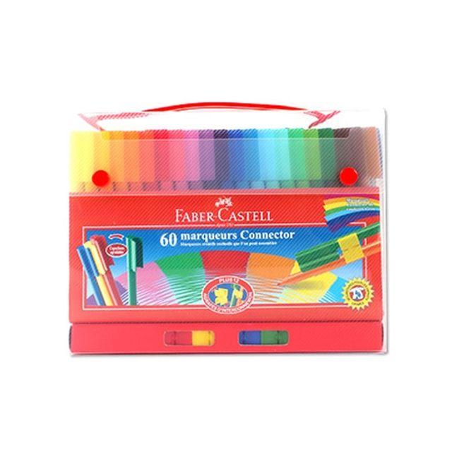 커넥터펜 60색-기프트케이스 미술학용품