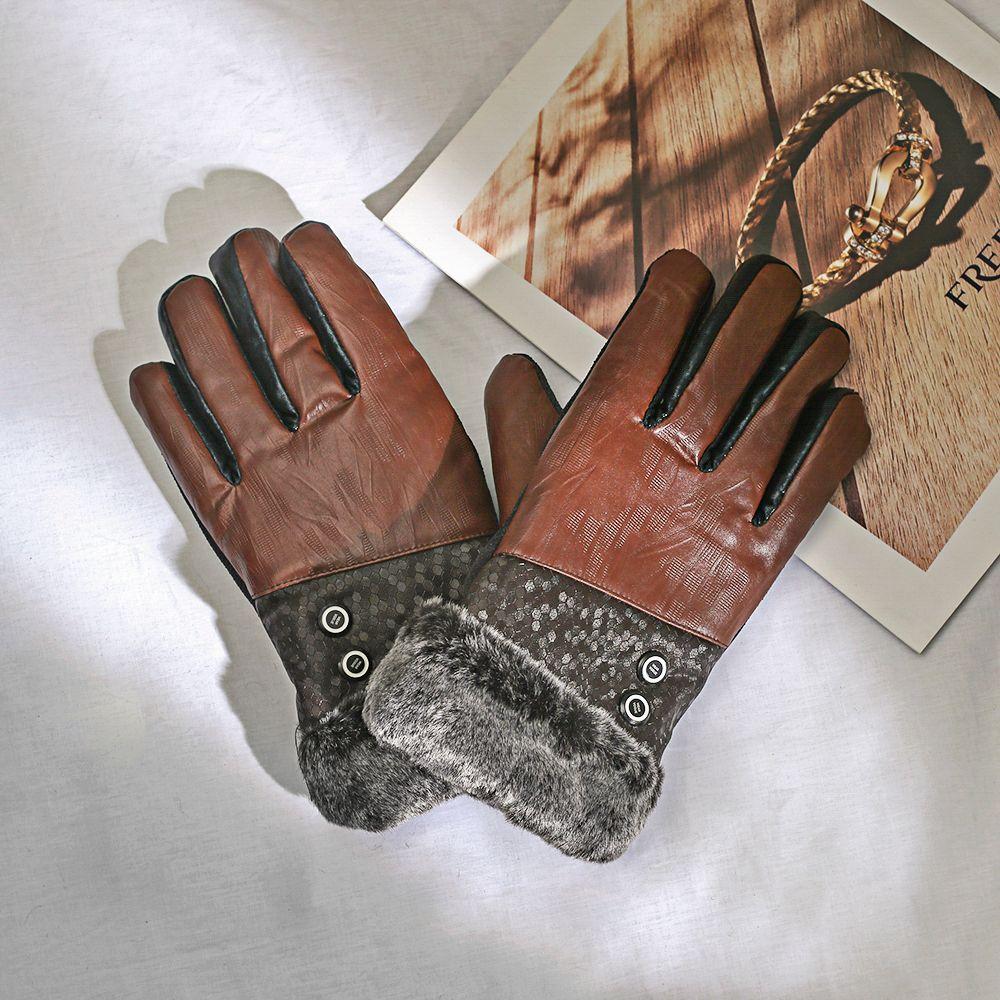 [현재분류명],소중한 내손 스포츠 기모 방한장갑(PU),방한장갑,가죽장갑,스티치장갑,장갑