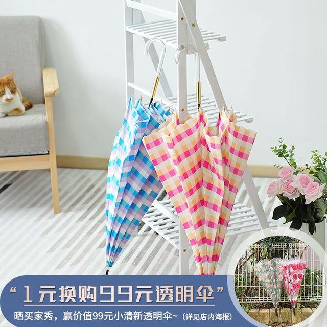 [해외] 패션소품 양산 방수 방풍 한 긴 손잡이 우산