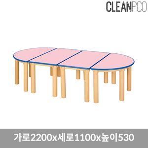 열린책상 기본다리 530 책상 의자 책꼿이