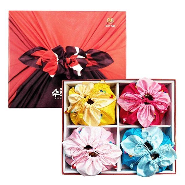 수희푸드 수제 복주머니세트,명절선물,명절선물세트,선물세트,견과