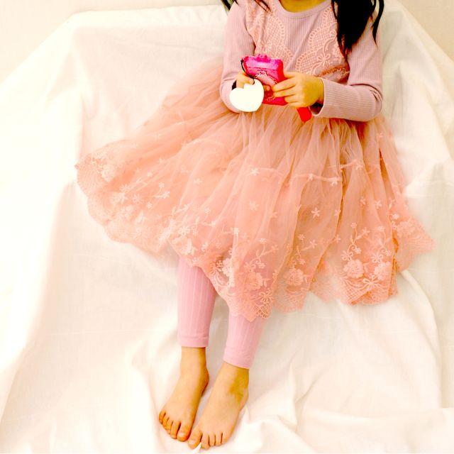 아동 기모골지드레스 아동원피스 유아원피스