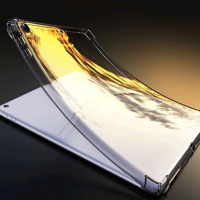 아이패드 에어1 클린 클리어 젤리 태블릿 케이스 T029