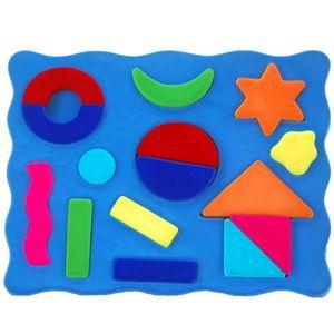 영유아 퍼즐 3D 천연 고무 도형퍼즐 오감 촉감 놀이