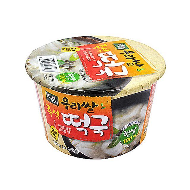 우리쌀 백제식품 즉석떡국 163g X 16EA ,백제식품,우리쌀,즉석떡국,163g,X