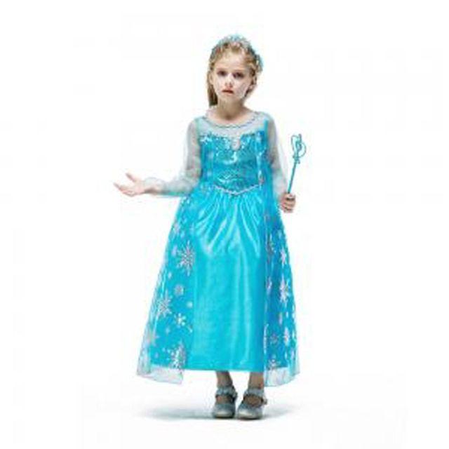 할로윈 의상 아동 여아 공주 겨울왕국 엘사 드레스