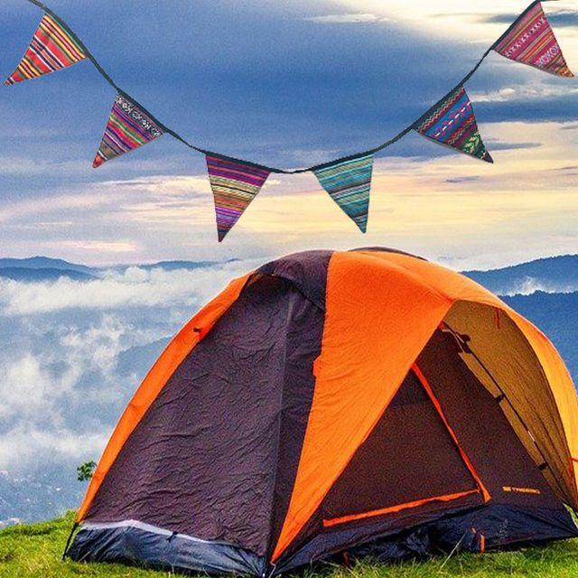 W 감성 캠핑 용품 낭만 가득 소품 가랜드 텐트 꾸미기