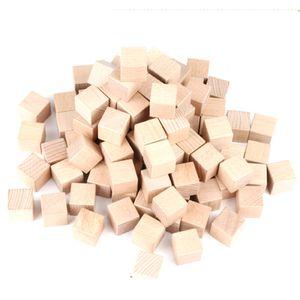 어린이 나무 쌓기 큐브 학습 활동 교구 소근육 발달