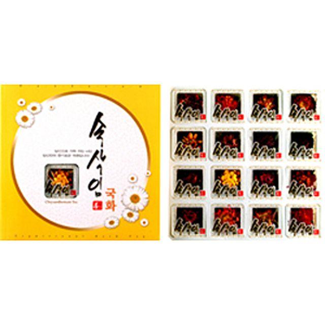 [더산쇼핑]프리미엄 속삭임 국화차 16T 국화차 허브차 전통차 꽃차 티타임 티백 차 tea 선물 집들이