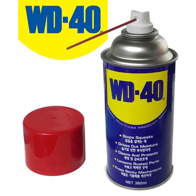 W WD-40 방청윤활제 대형 360ml 방청제