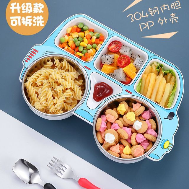 [해외] 주방용품 식판 정용 어린이 식기 보충 식품