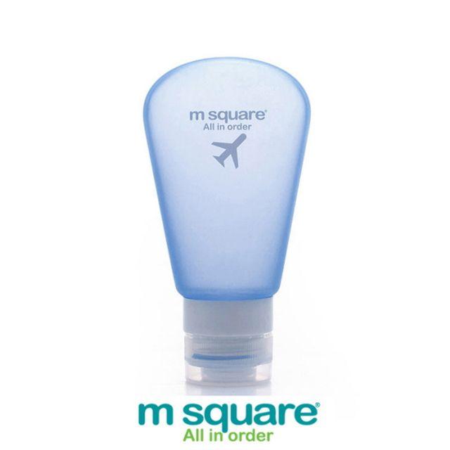 엠스퀘어 여행용 소프트케이스 3종세트 블루