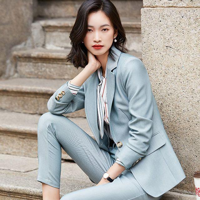 [해외] 여성 패션 재킷 자켓 정장세트질 전문 작은 정장