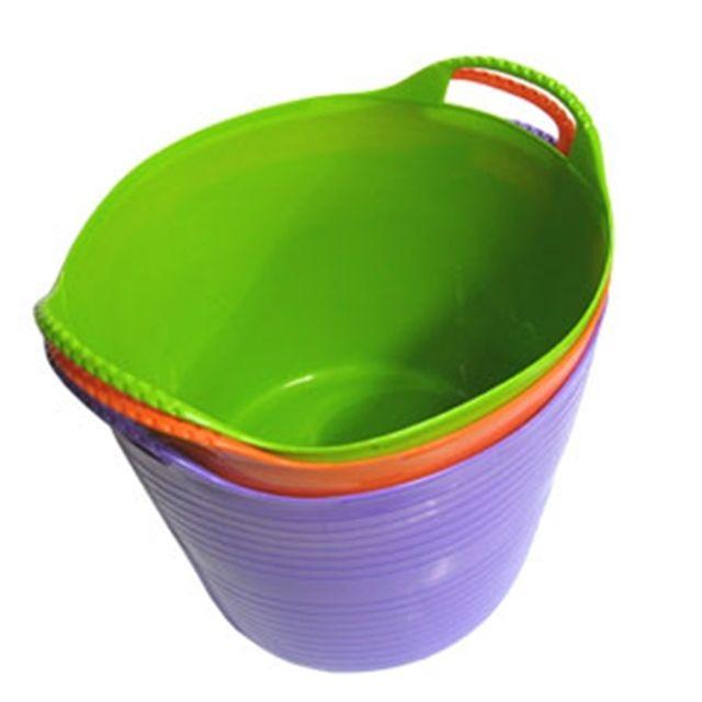 소프트 빨래바구니 원형 (대) 빨래 수납 목욕 정리 [제작 대량 도매 로고 인쇄 레이저 마킹 각인 나염 실크 uv 포장 공장 문의는 네이뽕]