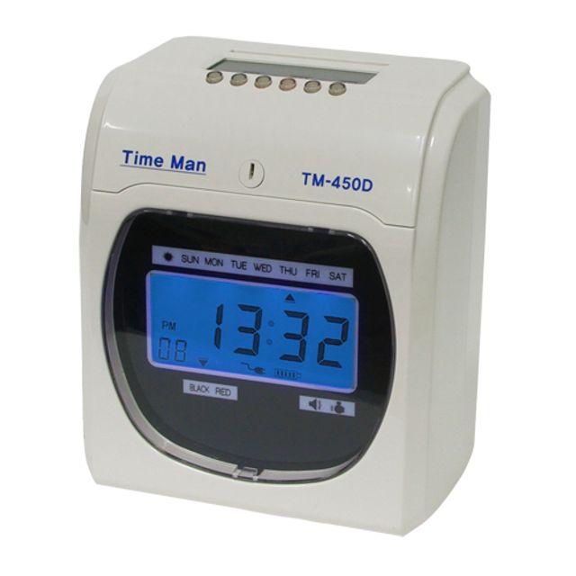 출퇴근기록기 TM-450D
