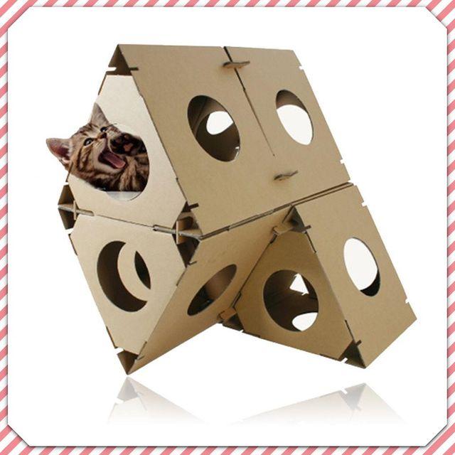 골골 골판지 고양이놀이터 6개입