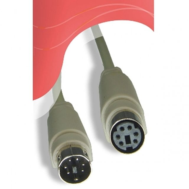 PS/2연장케이블 N-003.2m [제작 대량 도매 로고 인쇄 레이저 마킹 각인 나염 실크 uv 포장 공장 문의는 네이뽕]