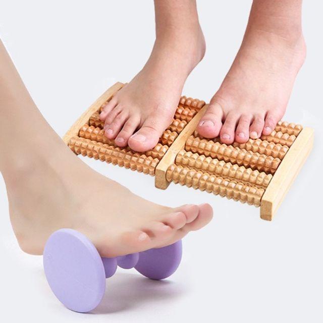 GnJ 발지압롤러 발바닥마사지 휴대용 발바닥안마기