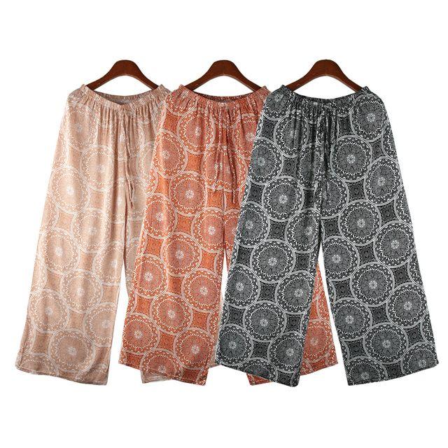 W 서클 패턴 여성 쿨 통바지 SD-210514