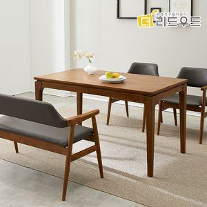 엘사 고무나무원목 4인 식탁테이블