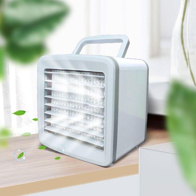 충전식 미스트 냉풍기 휴대용 선풍기 에어컨보조냉방