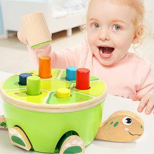 18개월아기장난감 탑브라이트 거북이 망치 놀이