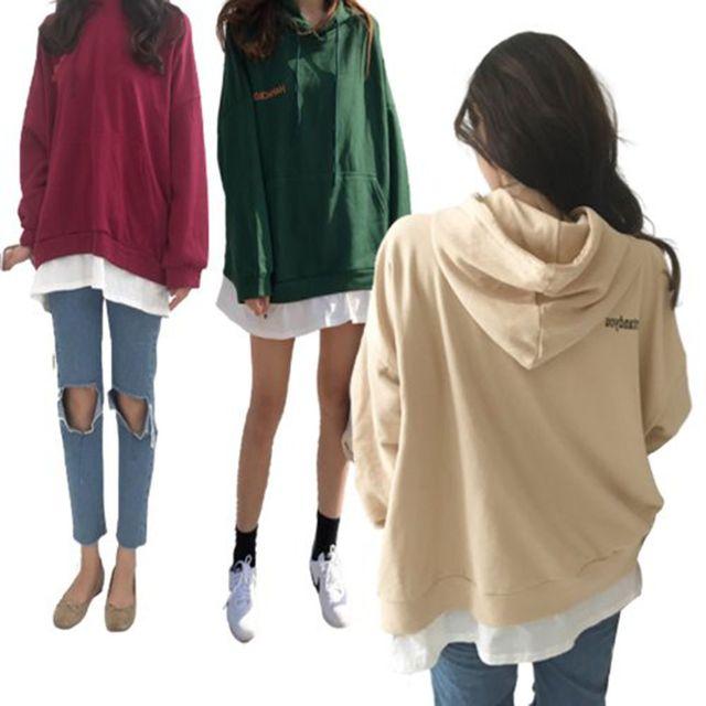 W 여자 데일리 패션 깔끔 우드 티셔츠 베이직 스타일