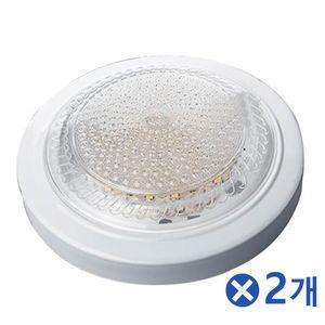 저발열 LED 직부등 주광색 15Wx2개 비상등 동작감지