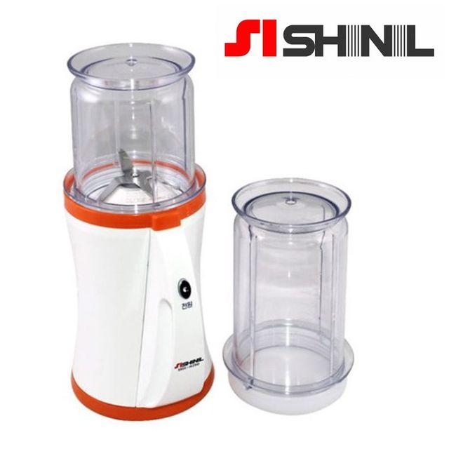W 신일250 국산 강력모터 미니 믹서기