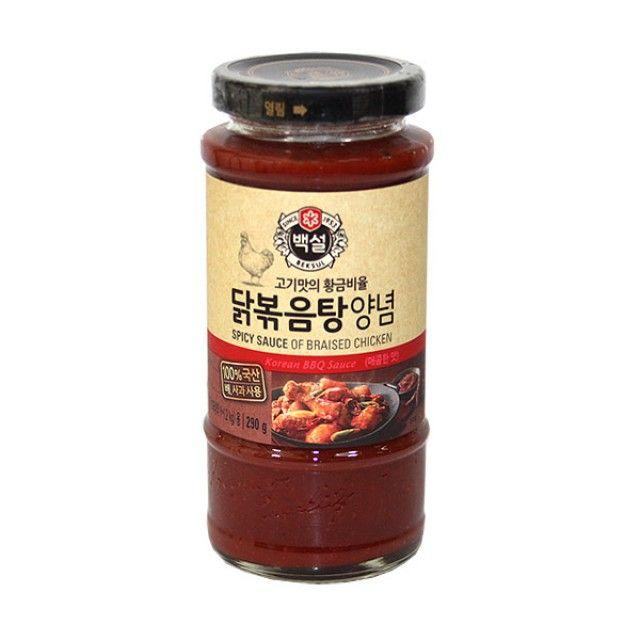 CJ백설 닭볶음양념290g 불고기 돼지갈비 소갈비 닭볶음 고기양념,불고기,돼지갈비,소갈비,닭볶음,고기양념