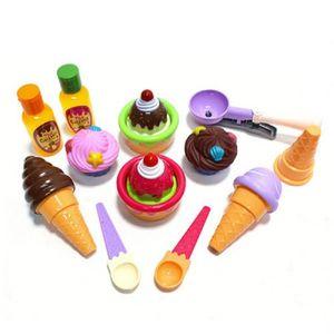 어린이집 역할 놀이 교구 아이스크림 디저트 세트
