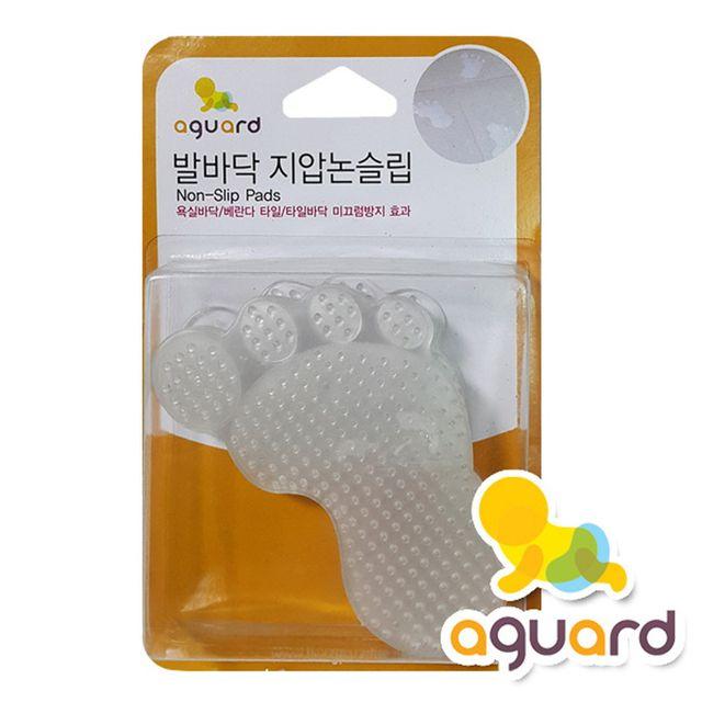 W 아가드 발바닥 투명 논슬립 바닥패드 6장