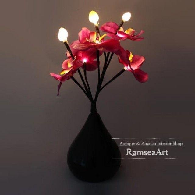 LED베이스라이팅 꽃 2color 인테리어 스탠드