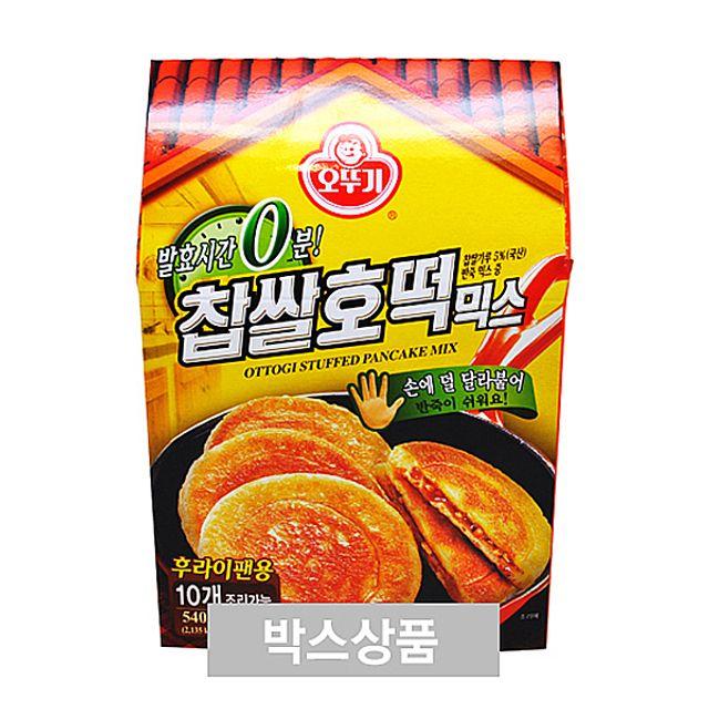전통떡 간편식품 오뚜기 찹쌀호떡 믹스 540g X 14EA,전통떡,간편식품,오뚜기찹쌀호떡믹스540gX14EA