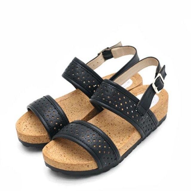 【韩国直邮】单肩包线条镂空线凉鞋