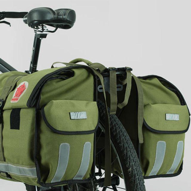 로스휠 자전거 뒷자리 안장 가방 트렁크
