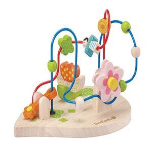 유아 어린이 장난감 놀이 플라워 비즈 롤러코스터