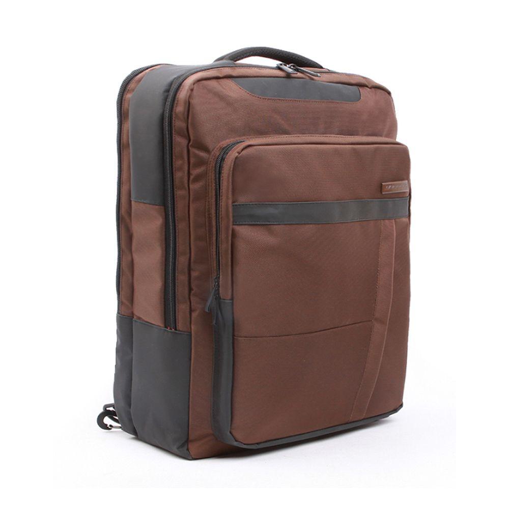 대학생 여성 캐주얼 브라운 백팩 데일리 노트북 가방