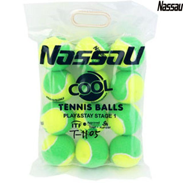 낫소스포츠 국제테니스연맹 ITF 공인구 테니스공 12개