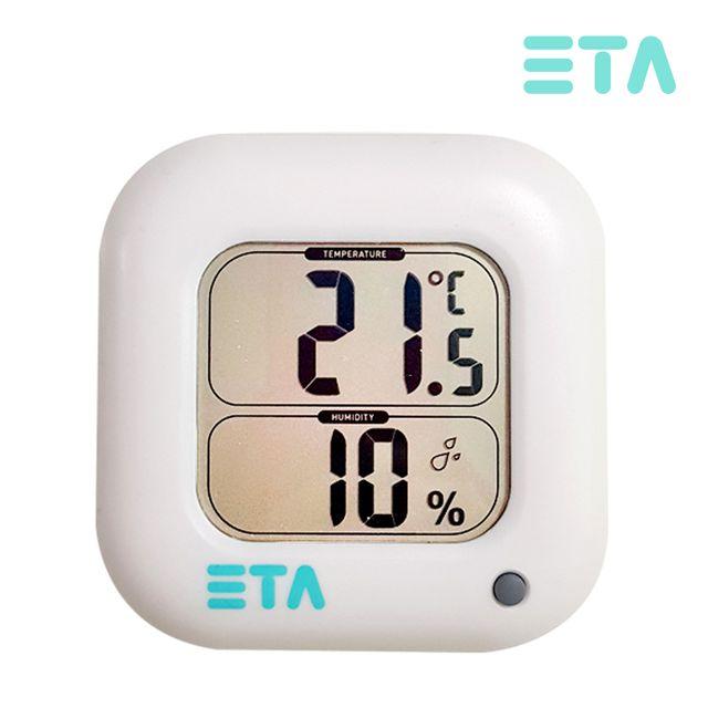 에타 디지털 온습도계 벽걸이스탠드 겸용