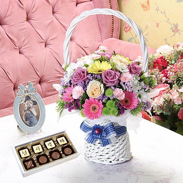어린왕자+초콜렛-중급 3시간배송 전국 꽃배달 고백 결혼 기념일 감사선물