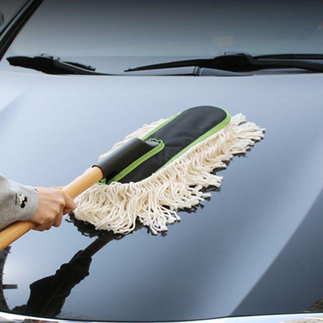 차량용 면사 다우니 향기 기름 걸레 먼지털이개